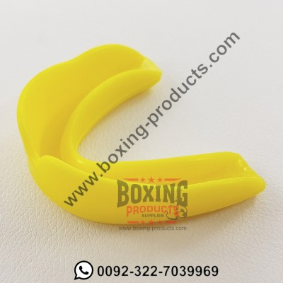Yellow Mouth Guard