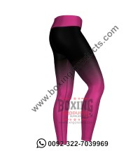 Pink Ombré Leggings
